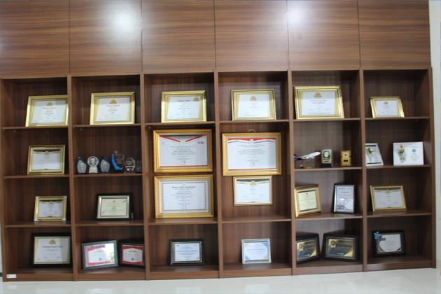 Piagam penghargaan yang di raih Bandara Kalimarau Berau - Bandara Kalimarau Berau; Tetap Berprestasi Ditengah Pandemi