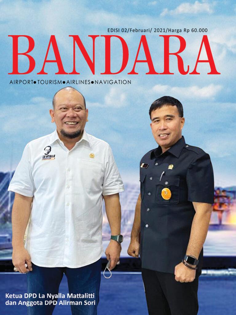 Cover Majalah Bandara Edisi Februari 2021 768x1024 - E-MAGAZINE MAJALAH BANDARA 2021