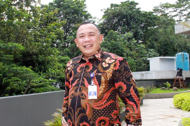 Kepala Bandara Elalamo Sanana Syaifullah Siregar